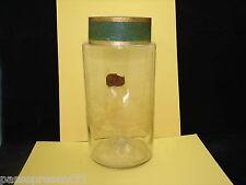 Joli ancien, flacon, pot, à pharmacie, Hauteur : 24 cm