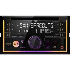 JVC KWR930BTS Double DIN Bluetooth USB Sirius XM Car Stereo Receiver CD Player