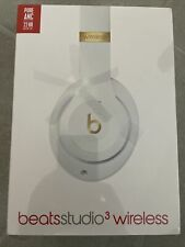 New Beats by Dr. Dre Studio3 - Over the Ear Wireless Headphones - White Unused