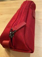 Tumi Red Travel Accessories Kit Bag - Brand New