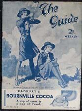 More details for vintage the guide girl guide magazine vol 16 #41 - january 23rd 1937 - complete
