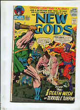 THE NEW GODS #8 (8.0) THE DEATH WISH OF TERRIBLE TURPIN!  1972