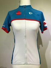 New PEARL IZUMI Women Select LTD Short Sleeve Cycling Jersey CANADA Custom