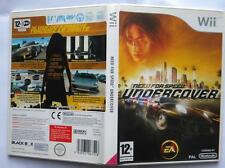 NEED FOR SPEED UNDERCOVER NINTENDO WII EDIZIONE FRANCESE PAL
