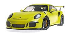 Porsche 911 GT3 RS (991) 2015 lichtgrün 1:18 Minichamps 155066222 neu + OVP