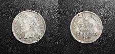 Napoléon III - 20 centimes tête laurée 1867 A, Paris - F.150/1