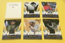 All 5  Beach Boys Concert Gear Shirt Memorabilia Relic Swatch Cards 2013 Panini