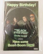 Le Noir Eyed Peas Carte De Joyeux Anniversaire & CD