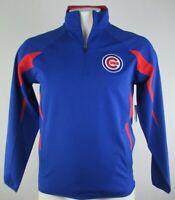 Chicago Cubs MLB G-III Men's 1/4 Zip Blue Jacket