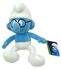 12 Inch Brainy Smurf Soft Toy - The Smurfs Movie - Smurf Toys