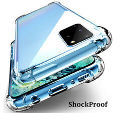 CLEAR Case For Samsung Galaxy Note 20 Ultra 5G A71 A51 Silicone Shockproof Cover