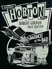 REVEREND HORTON HEAT ROCKABILLY PUNK BLACK CANVAS BACK PATCH