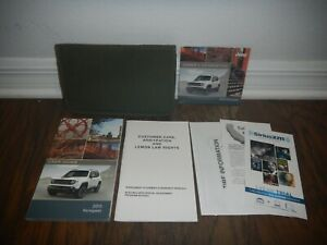 2015 JEEP RENEGADE OWNER MANUAL SET WITH CASE FREE SHIPPING