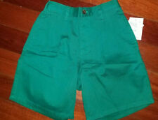 HARTSTRINGS BOY'S GREEN SHORTS ~ SIZE 7 ~ NEW with TAG!