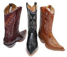 Men's Genuine Leather Western Cowboy Boots Style CR200 Camaleon 3x