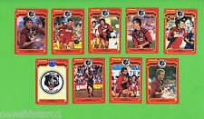 1986  SCANLENS  NORTH SYDNEY BEARS RUGBY LEAGUE CARDS