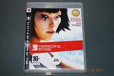 MIRROR's Edge PS3 Playstation 3 Espejos ** GRATIS UK FRANQUEO **