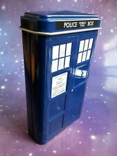 DOCTOR WHO TARDIS POLICE BOX CIGARETTE CASE TRADING  BUSINESS CARD HOLDER TIN