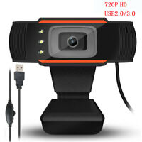 Solid Rotatable Video Recording Webcam PC Camera With Microphone Digital Camera