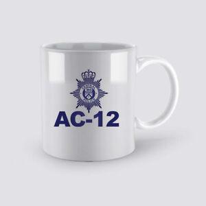 AC-12 Line Of Duty Coffee Mug Inspired BBC Tv Show Gift  Cup Tea Office Home