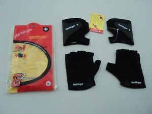 New Harbinger G2 DOUBLE GLOVE 2 Pairs Weight Lifting & Strength Training Size XL