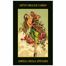 Gypsy Oracle Fortune Telling 52 Cards Gipsy Deck with Multilingual Instructions