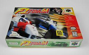 "F1 POLE POSITION 64 🏎️ (Nintendo 64, 1994) N64 🏁 NEW SEALED MINTY 🏎️ ""RARE!"