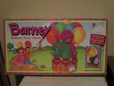 BARNEY BALLOON RACE GAME 1993 Parker Brothers Complete,SOLID BOX,LIGHT SPINNER