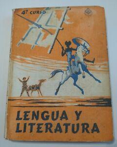 Lengua y Literatura / Cuarto Curso / Lengua Española / Edelvives / Libro (1966)
