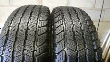 PAIR 235/75/15 105T M+S GOODYEAR WRANGLER ULTRA GRIP    FREE FITTING (REF:209)
