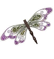 Dragonfly Wall Decor regal art & gift regal10187 purple dragonfly wall dicor | ebay