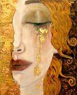 Print - Golden Tears by Gustav Klimt
