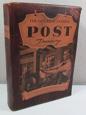 Vintage The Saturday Evening Post Treasury 1954 Simon & Schuster First Printing