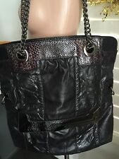 Mimco Limited Edition Speakeasy Leather Shoulder Tote Bag RRP$549