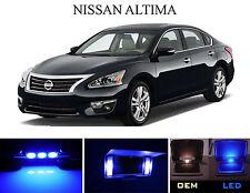 Ultra Blue Vanity / Sun visor  LED light Bulbs for Nissan Altima (4 Pcs)