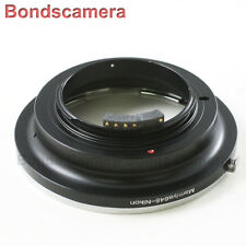 AF confirm Mamiya 645 645AF Lens to Nikon F mount Camera Adapter D600 D800 D5200