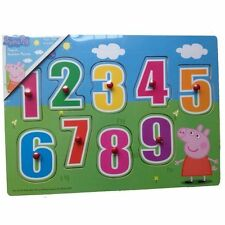 TV Character Puzzles Wooden Pre-School Toys