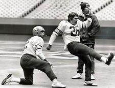 Cfl 1977 Eskimos Wilkinson Cutler & Campbell Practice 8 X 10 Photo Picture