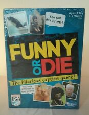 New Funny Or Die The Hilarious Caption Game, Hasbro  Made In U.S.A.
