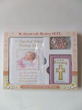 Baby Christening Gift Set for a Girl