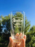 🔴 set 6 bicchieri Birra DREHER anni 70 CORRIERE GRATIS