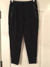 Abercrombie Kids Girls Black Athletic Sweatpants Size XL (16)