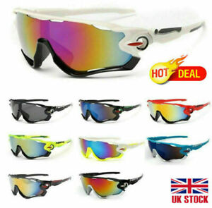 Outdoor Sport Cycling Bicycle Bike Riding Sun Glasses Eyewear Goggle UV400 UK