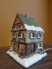 Hawthorne Village Cup Of Cheer Cafe Coffee Joe Shop Restaurant Christmas Hummel