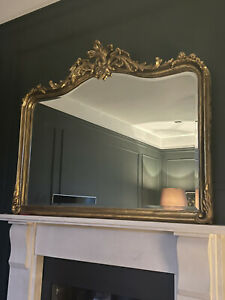 Stunning Ornate Gold Overmantle Mirror From Laura Ashley Rococo Baroque