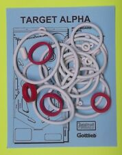 1976 Gottlieb Target Alpha pinball rubber ring kit
