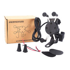 Universal Motorcycle Phone Holder Support Stand Mount Bracket Cellphone GPS DE
