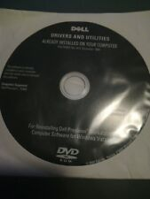 DELL Precision workstation computer software DVD for Windows vista