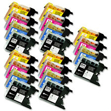 20 Pack Ink Jet Cartridges for LC75 Brother MFC-J435W MFC-J5910DW MFC-J625DW