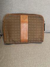 COACH Clutch Bag - Tan Signature